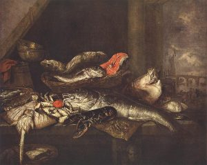Beyeren, Still-life with Fishes, Dresden